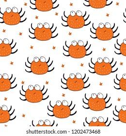 Cute Spider halloween pattern