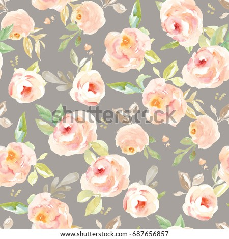 Royalty Free Stock Illustration Of Cute Vintage Floral Wallpaper