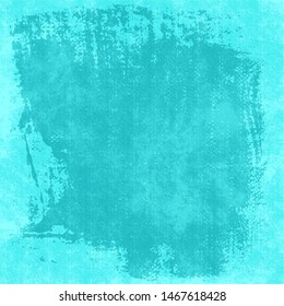 Cyan background with plaster texture.