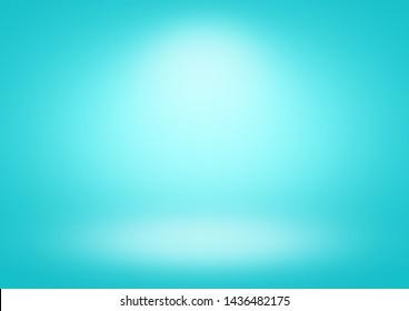 Cyan gradient background limbo classic