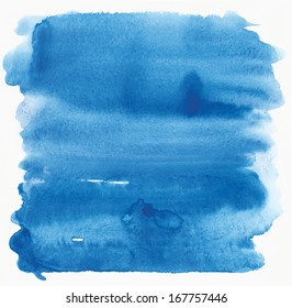 cyan watercolor background
