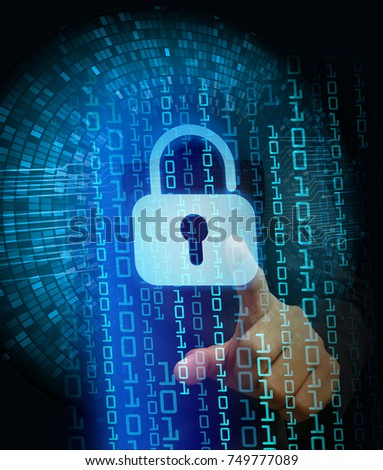 Royalty Free Stock Illustration of Cyber Network Concept Holding