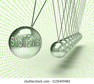 Cyber Physical Systems Bot Interaction 3d Rendering Shows Future Digital Evolution For Manufacturing Process And Production