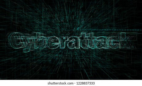 Cyberattack, Cyber Attack, Computer Programming Code
