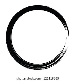 Cycle ring complete drawing brush