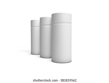Cylindrical cardboard packaging