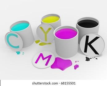 CYMK Colors