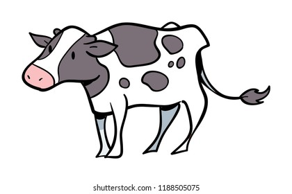 Dairy Cow graphic icon