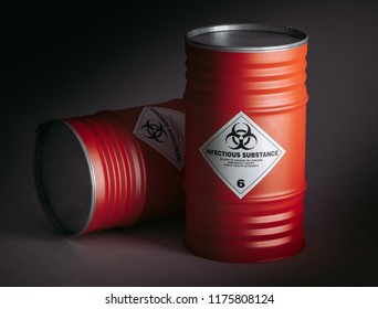danger barrel 3d rendering image