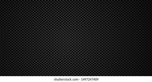 Dark black Geometric Carbon fiber square background
