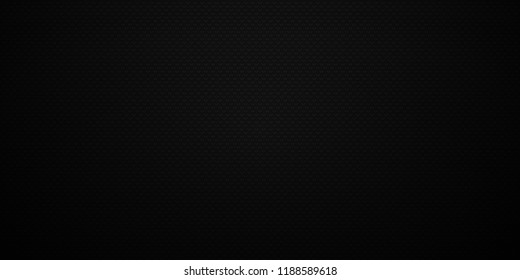 Dark black Geometric grid background Modern dark abstract texture