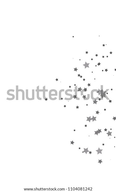 Dark Black vertical pattern with christmas stars. Shining colored illustration with stars. The pattern can be used for wrapping gifts.