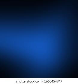Dark blue elegant background. Smooth blurred gradient.