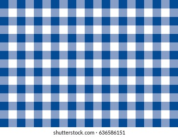 Dark Blue Gingham Pattern Background