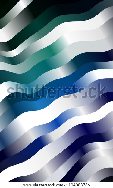 Dark Blue, Green pattern with lava shapes. A completely new color illustration in marble style. Marble style for your business design.