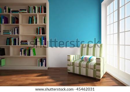 royalty free stock illustration of dark blue interior book self rh shutterstock com