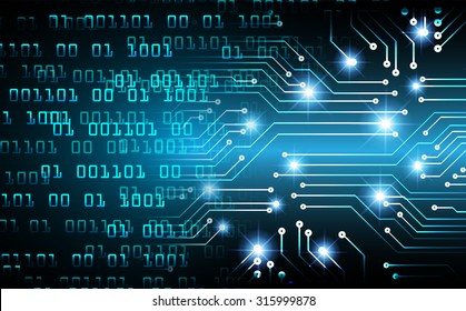 dark blue Light Abstract Technology background for computer graphic website internet business. circuit. illustration. digital. infographics.binary code background. one zero. motion move blur