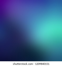Фотообои Dark blue lilac turquoise ombre background. Night sky gleam defocus texture. Blurred pattern. Mystery illumination abstract illustration.