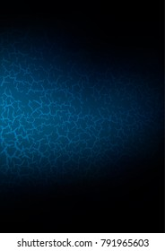 Dark BLUE natural abstract texture. Blurred decorative design in Indian style with Zen tangles. Brand-new design for your business.
