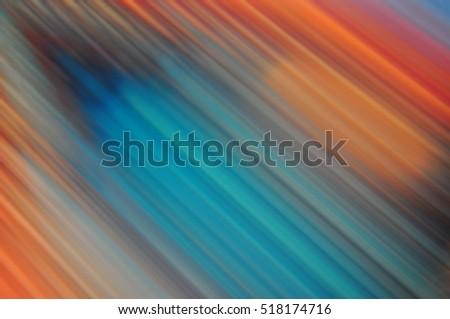 Dark Blue Orange Background Texture Stripes Stock