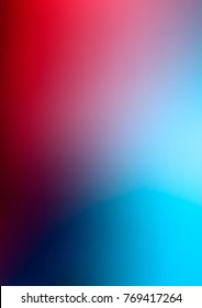 Dark Blue, Red blurred template. Modern geometrical abstract illustration with gradient. A completely new design for your business.