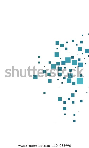 Dark BLUE vertical low poly background. A sample with a polygonal design. Illustration in polygonal style with repeating squares