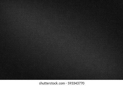 Dark carbon fiber background, illustration