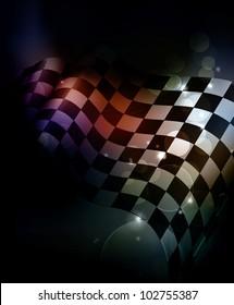 Dark Checkered Background, bitmap copy