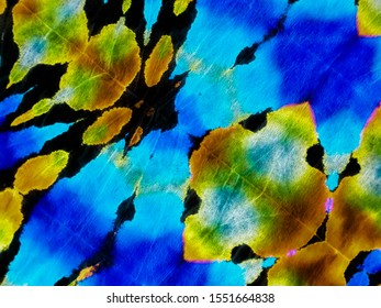 Dark Fantasy Colorful Background .Watercolor Painting Art. Vibrant Colorful Background .Orange Aquarelle Dirty Banner. Hand Drawing Paint. Dyed Texture Art.