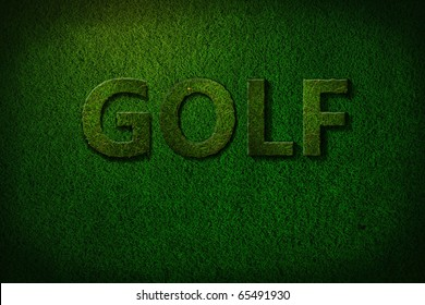 dark golf background