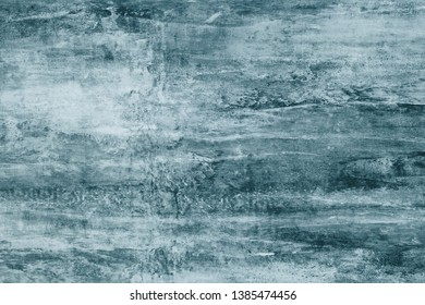 Dark gray paint stains on canvas. Abstract illustration with dark green blots on soft background. Creative artistic backdrop. Abstract pattern of watercolor illustration. Dark gray color texture. Grap