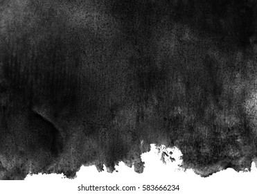 dark gray watercolor background, monochrome screen saver