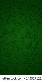 Dark Green Abstract Pattern Vertical Background
