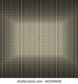 Dark Grey Structure of many Grid lines