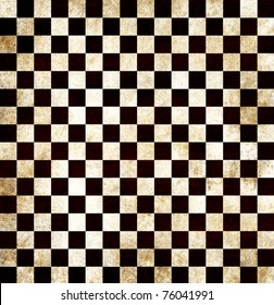 Dark grunge chess background