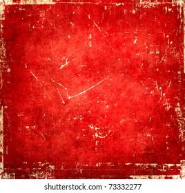 Dark grunge red background