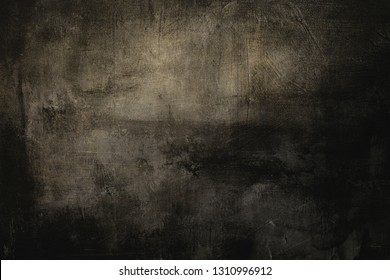 dark grungy golden wall background or texture