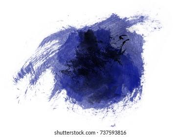 dark lapis blue watercolor background, luscious palette
