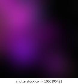 Dark purple gleam. Black magenta violet luxury fashionable blurry pattern. Empty background. Abstract texture. Defocus template.