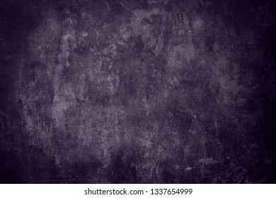 dark purple grungy wall background or texture