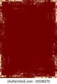 Dark red background with yellow overlay with distressed edges