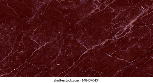 Dark Red color and natural marble