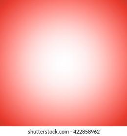 dark red gradient background / red gradient radial blur design / Empty white studio background