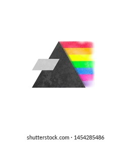 Dark side of the moon concept