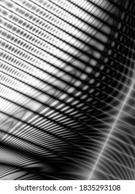 Dark technology wave art surface monochrome background