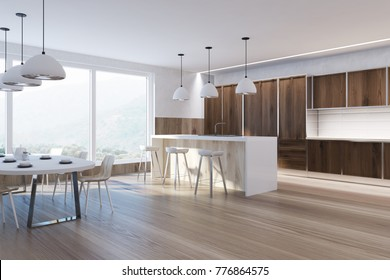 Royalty-Free Kitchen With Wooden Floor Stock Images, Photos ... on house building, house blueprints, house rendering, house elevations, house framing, house layout, house maps, house styles, house exterior, house foundation, house types, house painting, house design, house construction, house drawings, house structure, house plants, house models, house clip art, house roof,