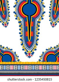 Dashiki Ornamental African Pattern