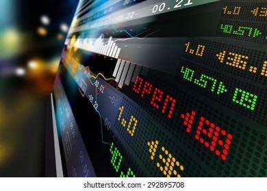 Analyse des données en bourse