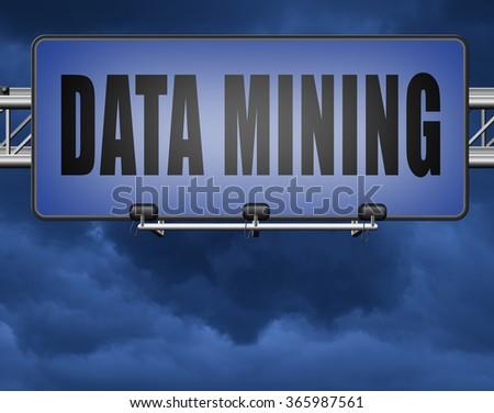 Royalty Free Stock Illustration of Data Mining Analysis Search Big