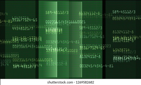 data monitor numbers